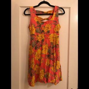 🖤5/$20 Floral Skater Dress
